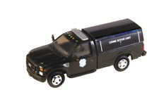 HO RIVER POINT STATION Ford F350 CRIME SCENE UNIT with Cap  : 1/87 Model Truck