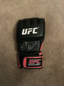Stipe Miocic Autographed UFC Signed Glove Champion Cleveland