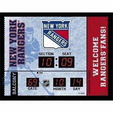 New York Rangers scoreboard LED clock bluetooth stereo speaker date 20x16