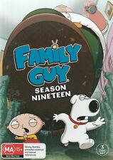 Family Guy Complete Nineteenth Season 19 DVD Region 4