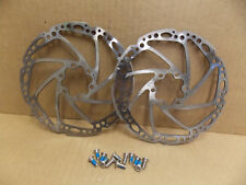 TRP 6 Bolt 160mm Rotors for Disc Brakes Pair fjd24