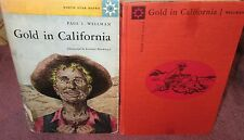 Gold in California ~ Paul Wellman.  HbDj  1958  School Edition   RARE   in MELB!