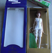 "RARE Franklin Mint Titanic Vinyl Rose in Corset Prototype Doll 15"" Tall in Box"