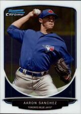 2013 Bowman Chrome Draft Top Prospects #TP-44 Aaron Sanchez Toronto Blue Jays