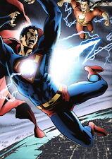 Matt Haley SIGNED DC Art Print ~ Superman vs Captain Marvel SHAZAM #2/20 LE