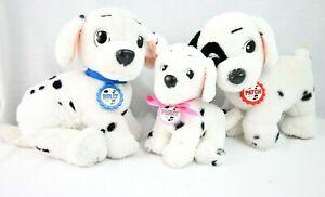 Mattel Walt Disney Plush Puppy Dog Lot 101 Dalmatians Vintage Patch Rolly Penny