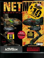 PC Big Box CD-ROM Game NetMech Eight Player Pack for Mechwarrior 2 1995 NIB NOS