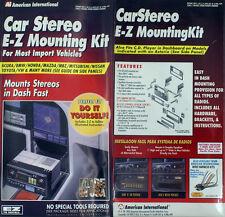 American International UI-K777 Car Stereo EZ Mounting Kit- SHIPS PRIORITY T