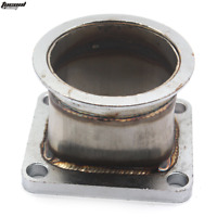 "Stainless Steel 3"" inch 76mm V band Adapter Flange For T4 Turbo V-Band Adaptor"