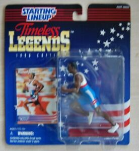 1996 MICHAEL JOHNSON Starting LineUp Track SLU TimeLess Legends Olympic figure