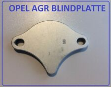 Opel Astra F X16XEL X18XE X20XEV   Original Opel  Blinddichtung AGR Blindplatte
