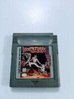 Nintendo Gameboy Game Cartridge, Montezuma's Return USA Version Free P&P!!!