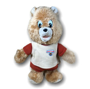 """Teddy Ruxpin Doll 1985 Little Boppers 13"""" Tall Plush Vintage Bear Figure Toy WOW"""