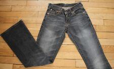 LEVIS 529 89  Jeans pour Femme W 24 - L 32 Taille Fr 34 (Réf #G204)