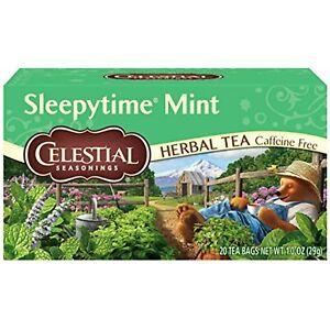 Celestial Seasonings Herbal Tea, Sleepytime Mint