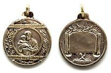 Medaglia Istituto Suore San Giuseppe Di Torino Metallo Argentato cm 3,2