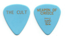 New listing The Cult Weapon of Choice Blue Guitar Pick 2012 Choice of Weapon Tour