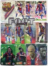 FC BARCELONA  MC 2008  -38 CARDS- Messi,Iniesta,Xavi,Ronaldinho,Puyol,Henry, ...