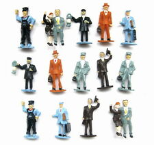 P4301 16pcs 1:43 Painted Figures Passenger O Scale NEW