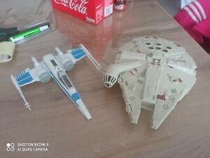 Star wars hasbro lot x2 vaisseaux.