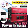 3000W-10000W DC12V To AC110V Car  Power Inverter USB Sine Wave Converter.