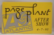 Led Zeppelin / Robert Plant / Jimmy Page - Original Cloth Tour Backstage Pass