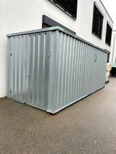 Lagercontainer 20 Fuß - L:6,10m B:2,30m H:2,40m - gebraucht