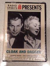 Radio Spirits Presents Cloak and Dagger - Classic Radio 2 CDS