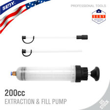Fluid Extraction Filling Syringe Transfer Liquid Pump Oil Extractor Automotive