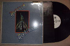 Network Nightwork 1978 Hard Rock vinyl record 1st US press W lyric sleeve PROMO