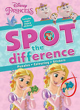 Disney Princess Spot the Difference: Includes Super Reward Stickers! by Parragon (Paperback, 2017)
