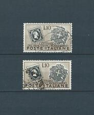 ITALIE - 1951 YT 610 2x - TIMBRES OBL. / USED