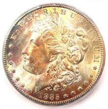 1885-CC Morgan Silver Dollar $1 Coin - ICG MS66+ PQ Plus Grade - $2,500 Value!