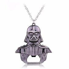 STAR Wars Dark Vader Collana con Pendente Ciondolo Gioco Star Trek grande