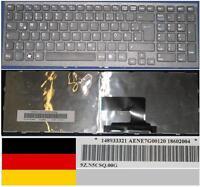 Clavier Qwertz Allemand SONY VAIO VPC-EE AENE7G00120 9Z.N5CSQ.00G 148933321 Noir