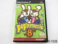 Pop'n Music 8 Playstation 2 Japanese Import Japan JP Bemani PS2 US Seller B
