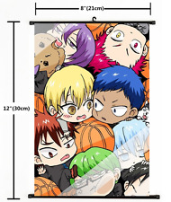 1676 Anime Kuroko no Basket Wall Scroll Poster cosplay A