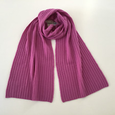 J. Crew Collection Ribbed Cashmere Scarf NWT Color: Neon Amethyst