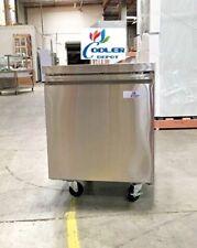 """NEW 27"""" Commercial Under Counter Freezer 2 Door Model TUC27F Restaurant Bar NSF"""