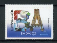 Spain 2019 MNH Badajoz 12 Months 12 Stamps 1v S/A Set Tourism Architecture Birds