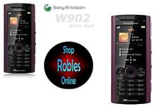 Sony Ericsson W902 Wine Red (Ohne Simlock)3G Walkman 5MP VideoCall Radio GUT OVP