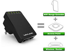 Wavlink 300Mbps Wireless WiFi Range Extender Repeater/AP Booster Client Bridge