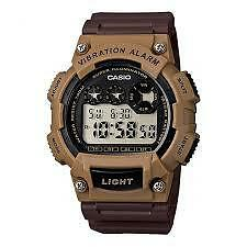 CASIO W-735H-5A SPORTS BROWN WATCH FOR MEN AND WOMEN - COD + FREE SHIPPING