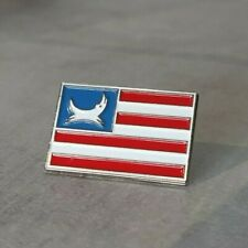 More details for brewdog airlines american flag pin badge very rare