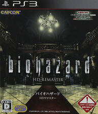 BioHazard HD Remaster (Sony PlayStation 3, 2014) - Japanese Version