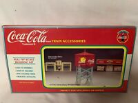 ✅K-LINE BY LIONEL COCA COLA WATER TOWER BUILDING KIT ACCESSORY! COKE SODA POP
