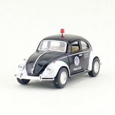VW Beetle 1967 Police Car Model Cars Toys 1:32 Open two doors New Alloy Diecast