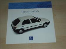 55139) Peugeot 306 XN Prospekt 01/1993