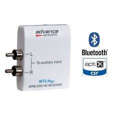 ADVANCE ACOUSTIC WTX-MAGIC RICEVITORE BLUETOOTH APTX NUOVO GARANZIA
