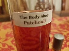 The body shop PERFUME OIL - PATCHOULI 5 ML NEW